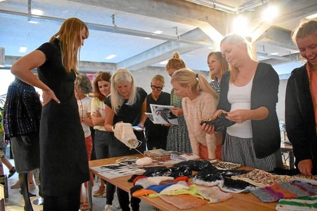 16 forskellige workshops inden for strik, hækling og broderi er på programmet. PR-foto