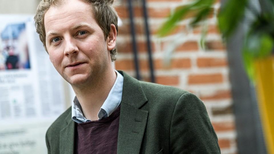 Laust Høgedahl, arbejdsmarkedsforsker på Aalborg Universitet, vurderer, at meget skiller parterne, og det taler for, at forhandlingerne hos forligskvinden ender i konflikt. Men andre forhold taler for, at der kommer et forlig.Foto: Nicolas Cho Meier