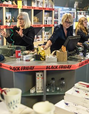 Black Friday skød julehandlen i gang