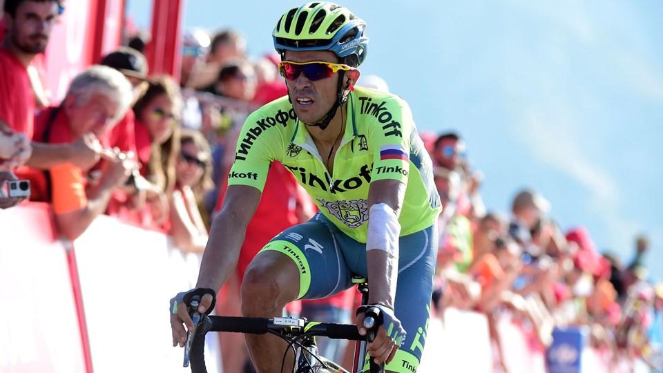 Alberto Contador er ikke i kridthuset hos Oleg Tinkov. Foto: Scanpix