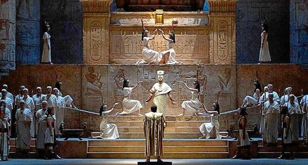 The Met opførelse af operaen Aida kan opleves i Pandrup Kino.Pressefoto