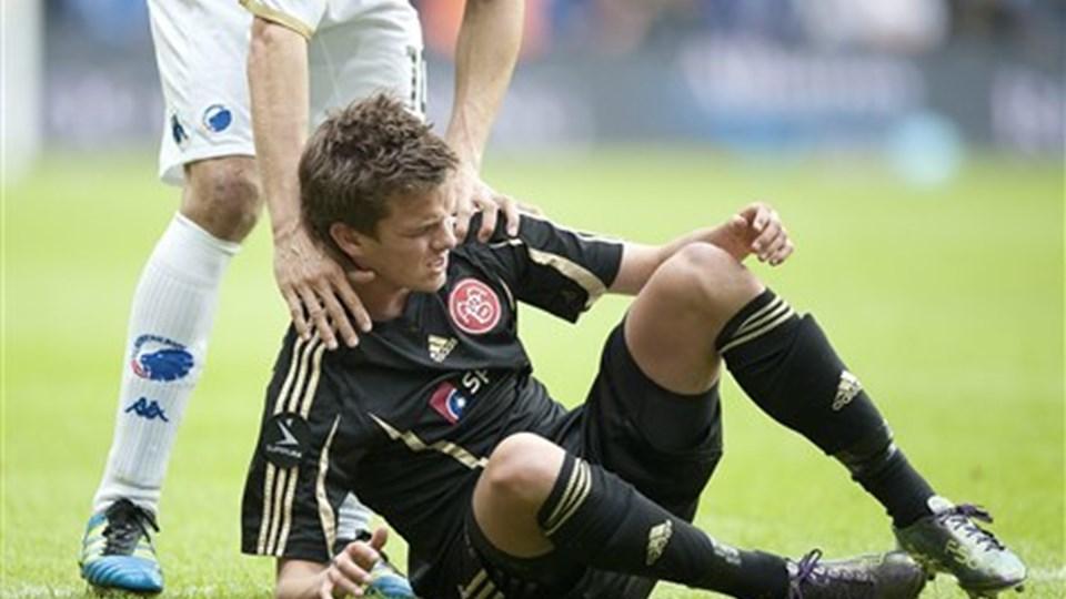 Lucas Andersen er flere gange blevet overværet af talentspejdere fra store europæiske klubber. Arkivfoto: Torben Hansen