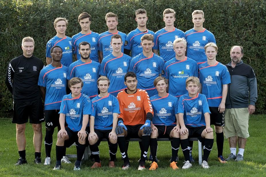 Jammerbugt FCs U19 hold er i 2. division
