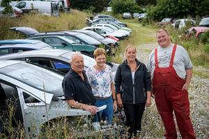 Svend har været autoophugger i 43 år - nu sælger han livsværket