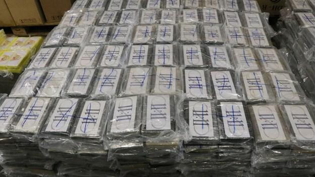 Tyske toldere finder 4,5 ton kokain i containerskib