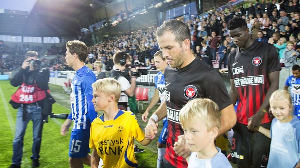 ALKA Superliga FC Midtjylland - Esbjerg 9. september 2016 MCH Arena Foto: Scanpix/Frank Cilius