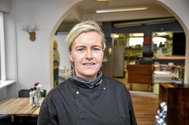 Vivi Lynge Hald har for første gang sin egen forretning.