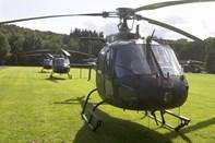 Helikoptere over byen