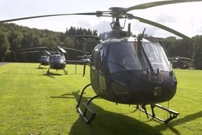 Helikoptere over Aalborg