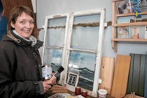 Bæredygtig maling på havnen i Ålbæk