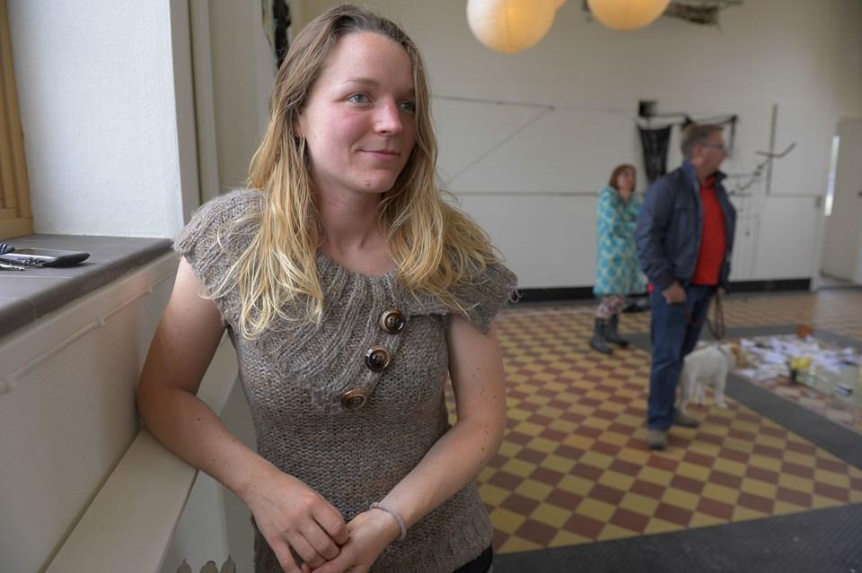 Udstillingens kurator Ann Mai Røge har lagt et stort og ulønnet arbejde i udstillingen på Hanstholm fyr.