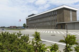 Tibetflag vajede fra politistation i Frederikshavn