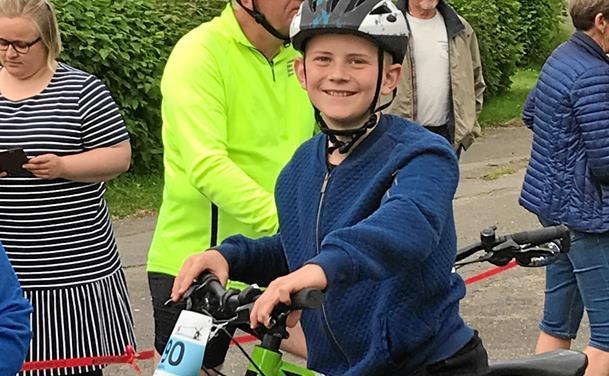 Parat til at klare cykeltur på 300 km