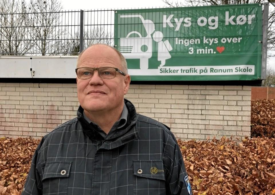 Svend Erik Schmidt - har fungeret som konsulent i processen, der har handlet om at få defineret Ranum Skoles nye pædagogiske profil. Privatfoto