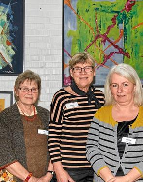 Spændende hobby- og kunst udstilling i Bjergby