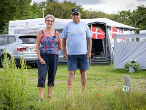 50 år i træk på Blokhus By Camping
