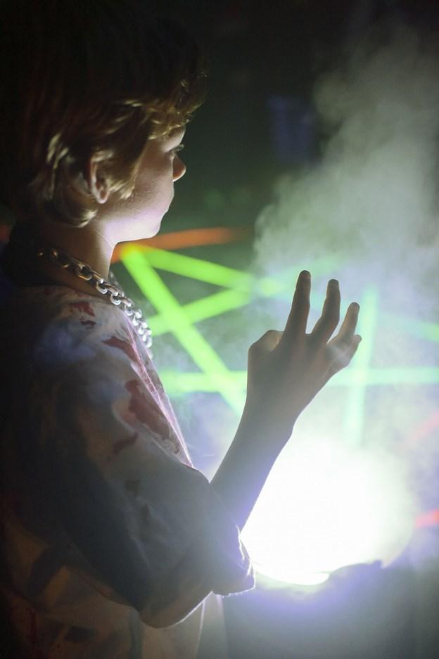 Børnene har deres helt eget spøgelseshus i dagtimerne - her kan de også deltage i en række aktiviteter som hjernebowling og edderkoppekast.Arkivfoto: Henrik Bo