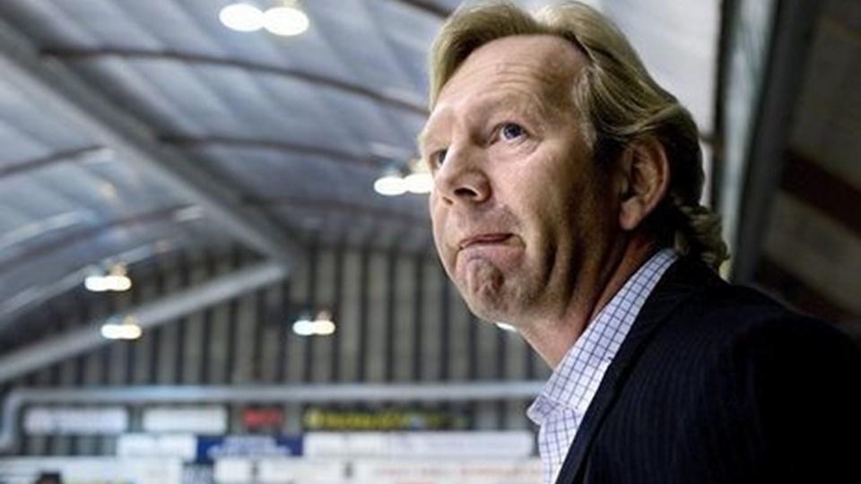 Træner Olaf Eller og White Hawks har for alvor fået noget at tænke over efter syv nederlag i træk. Foto: Torben Hansen.