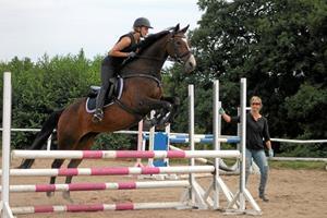 Tina Lund-besøg en stor succes