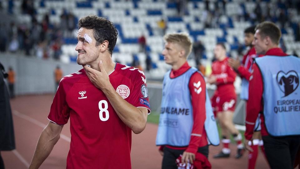 Thomas Delaney var overrasket, da han så, at FC København havde hentet angriberen Nicklas Bendtner.