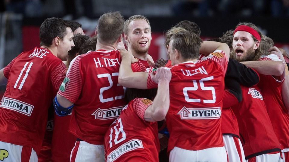 Danmark skal spille sine gruppekampe ved EM i 2020 i Malmö. (Arkiv)