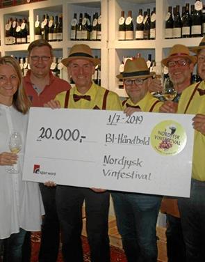 Vinfestivalen deler overskud med BI