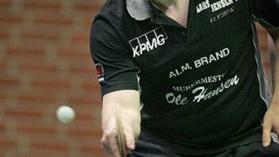 Morten Knudsen kom stærkt igen mod BTK's Vladimir Drakic.Foto: Bente Poder