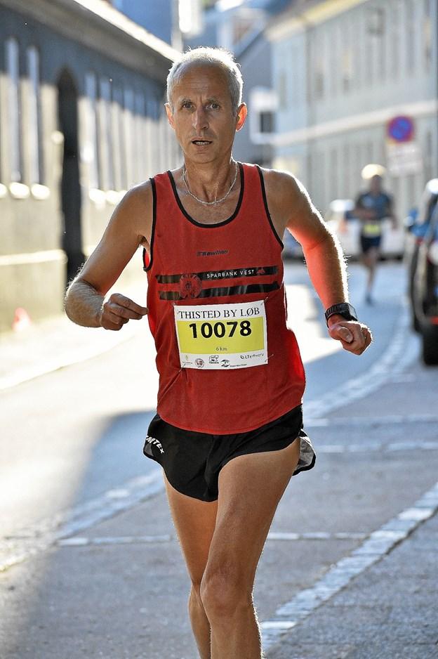 Han vinder de løb han stiller op i: Amir Gradascevic. 6 km. på 23.35 min. Foto: Ole Iversen