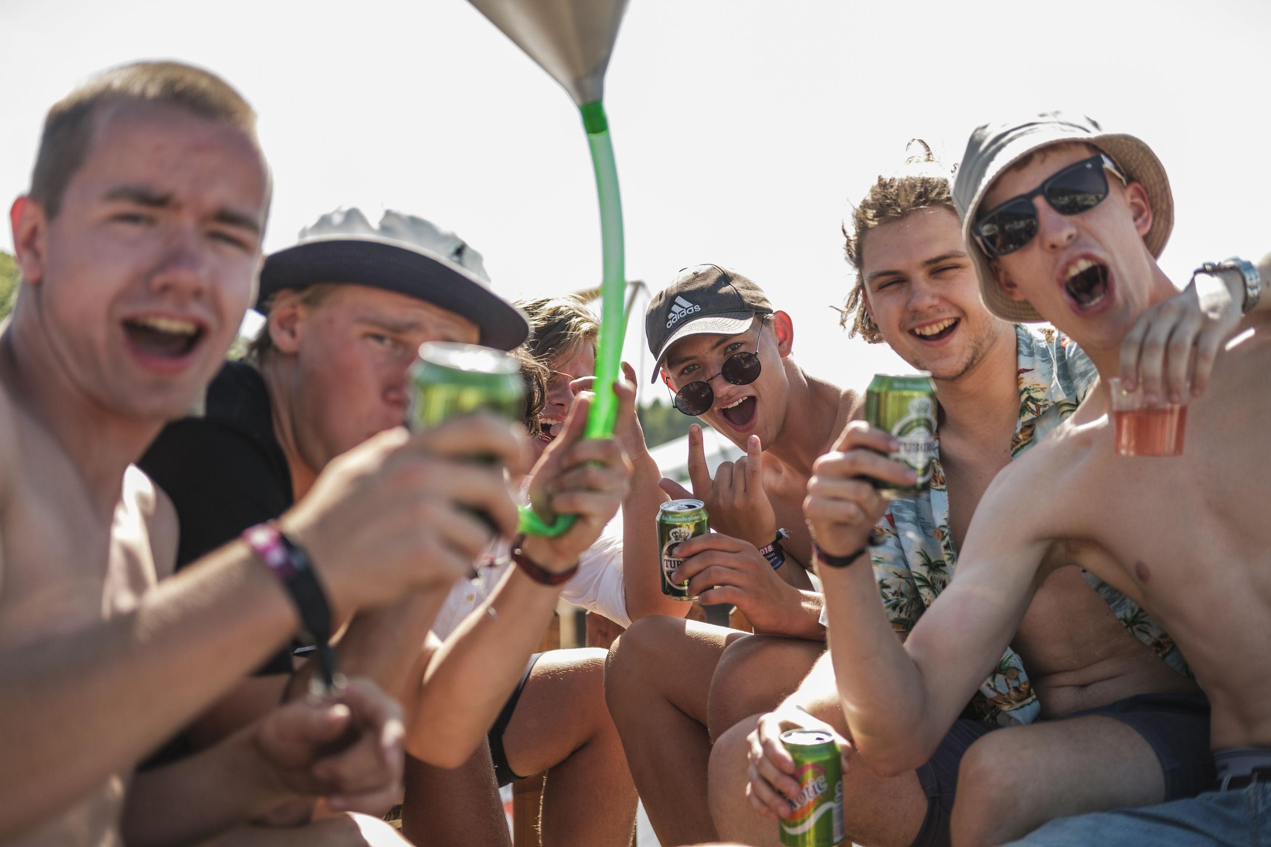 Der er blevet festet i over fire døgn på årets Nibe Festival.