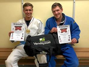 Guld og sølv til Jetsmark Judoklub