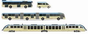 Busser og tog får nye farver
