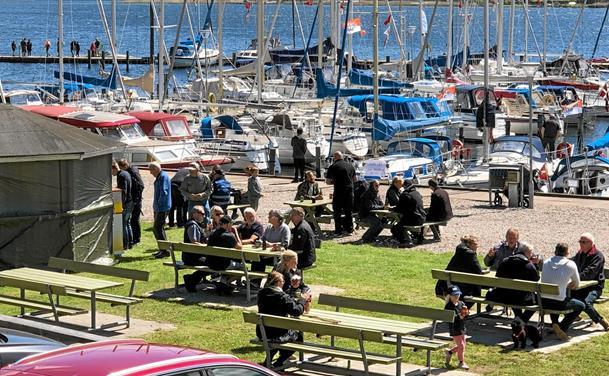 Velbesøgt Havnens Dag i Hobro: Se billederne