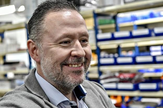 Direktør Poul-Ole Jensen ser frem til det nye samarbejde. Arkivfoto: Kim Dahl hansen