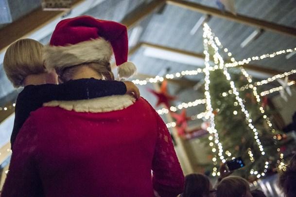 Juletræsfest i Ø. Brønderslev