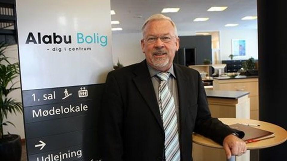 Det nye samarbejde Alabu blev fejret med reception, hvor det samtidig blev fejret, at direktør John Hjelm har rundet 60 år. Foto: Jens Morten