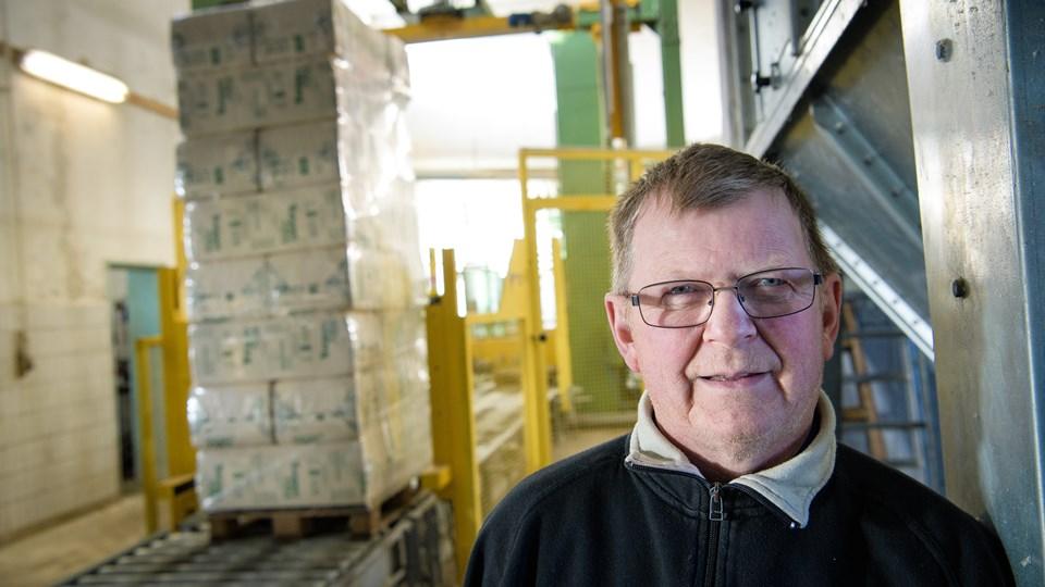 Georg Jensen er eneejer af Thermocell Sales i Karby. Firmaet hed tidligere Karby Træ. Arkivfoto: Bo Lehm