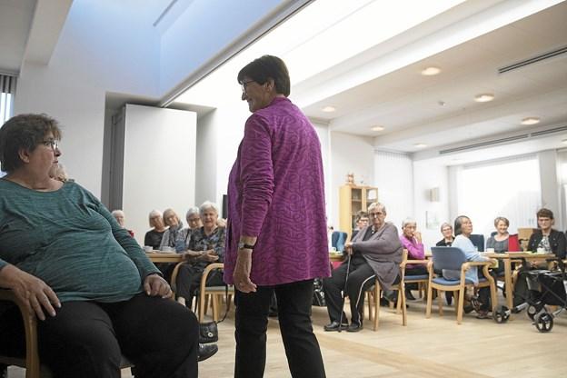 Omkring 70 publikummer havde indfundet sig til arrangementet. Foto: Allan Mortensen
