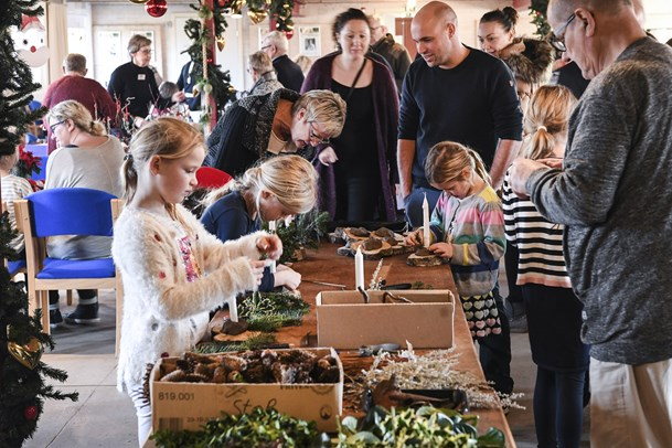 Oldemors fulling og julehygge på Gård 18