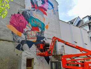 Gentager succes: Gavl-malerivandring i centrum