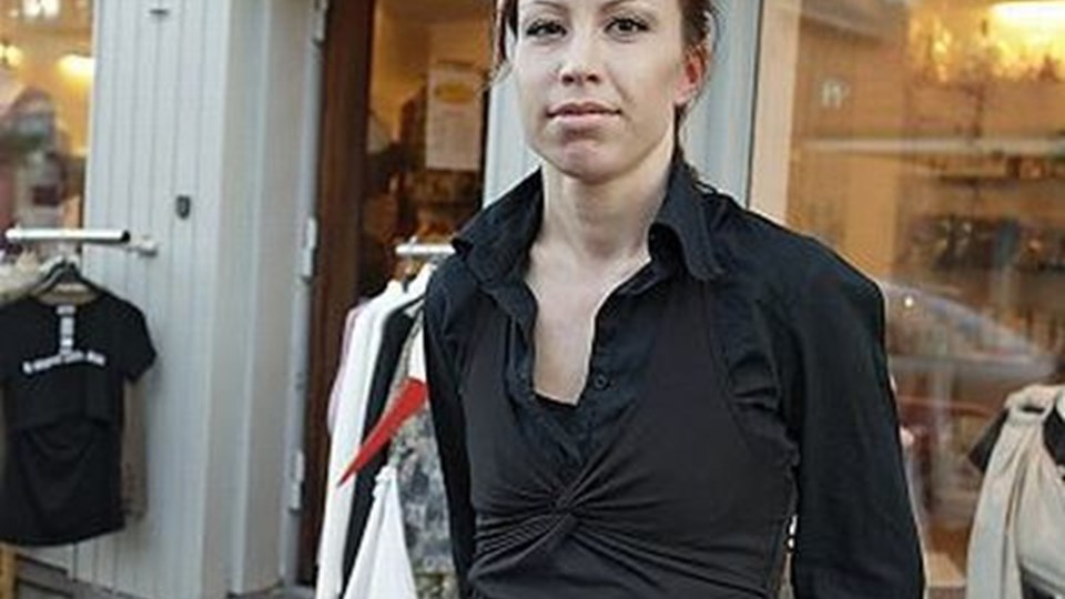 Talita David er glad for at kunne flytte fra Søndergade til Vestergade. FOTO: ERIK SAHL