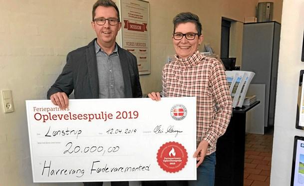 60.000 kroner uddelt til fire Lønstrup-projekter