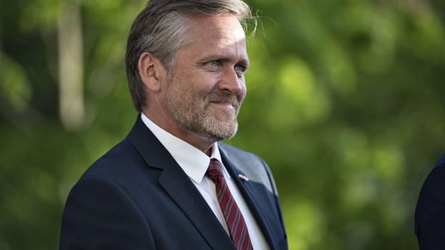 Samuelsen: Danmark skal tage ansvar i en mere usikker verden