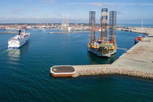 Afgørelse: Boreriggene i Frederikshavn er lovlige