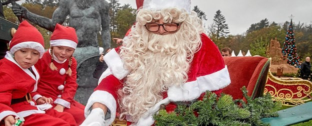 Skulpturparken Blokhus holder julemarked i november og december. Privatfoto Poul Nymark