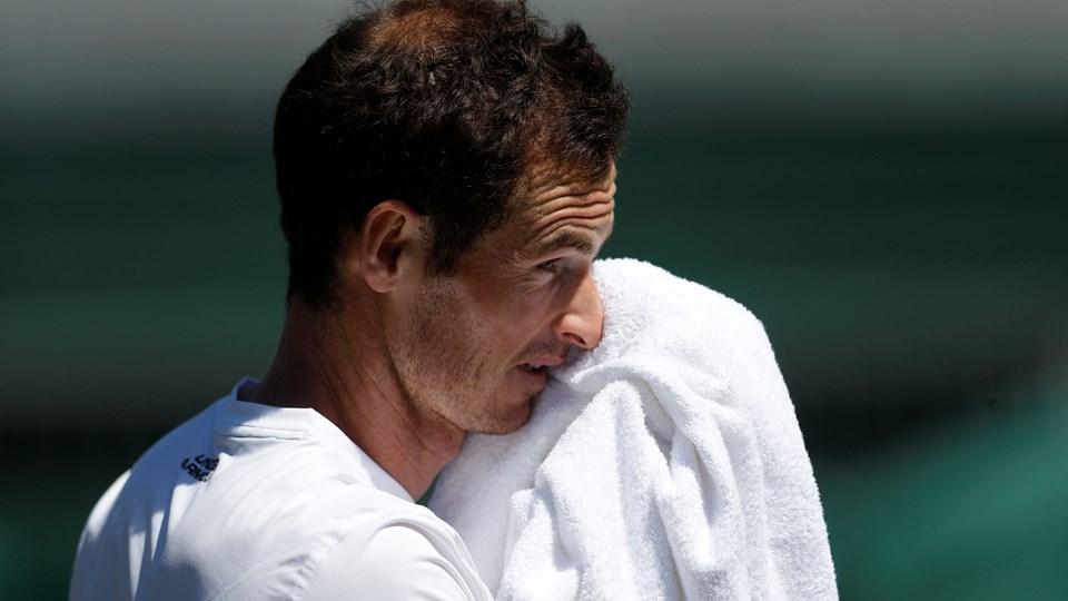 Andy Murray stiller ikke op i Wimbledon, der begynder mandag i den kommende uge. Foto: Peter Nicholls/Reuters