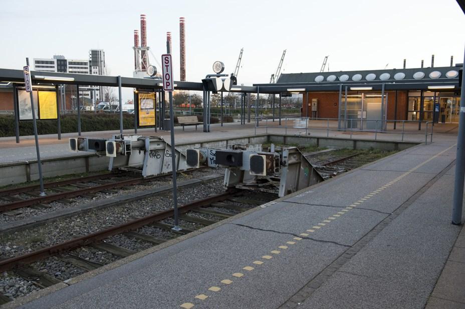 Ingen kiosk på banegården i Frederikshavn