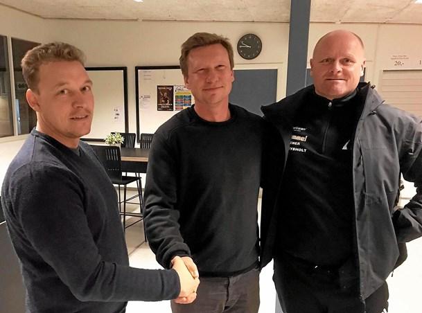 Ny førsteholdstræner i Hals