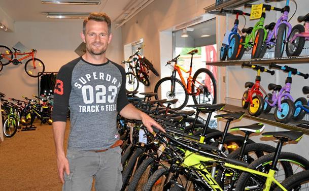 Travlhed i en af Danmarks ældste cykelbutikker
