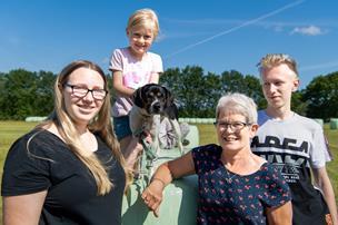 De bliver som familie: Tyske Saskia og Nicklas er feriebørn hos samme familie for 10. år i træk