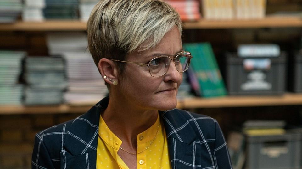 Børne- og undervisningsminister Pernille Rosenkrantz-Theil (S) åbner for sene optagelsesprøver til gymnasiet, så unge ikke kommer i klemme i systemet og skal vente et år. (Arkivfoto).
